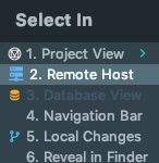 Select in - Remote Host