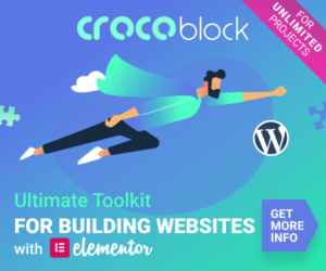 Crocoblock - Ultimaate Toolkit with Elementor
