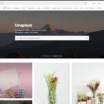 unplash website